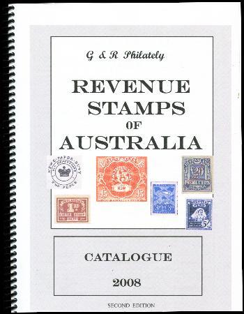 G R Philately Revenue Stamps Of Australia Ebay